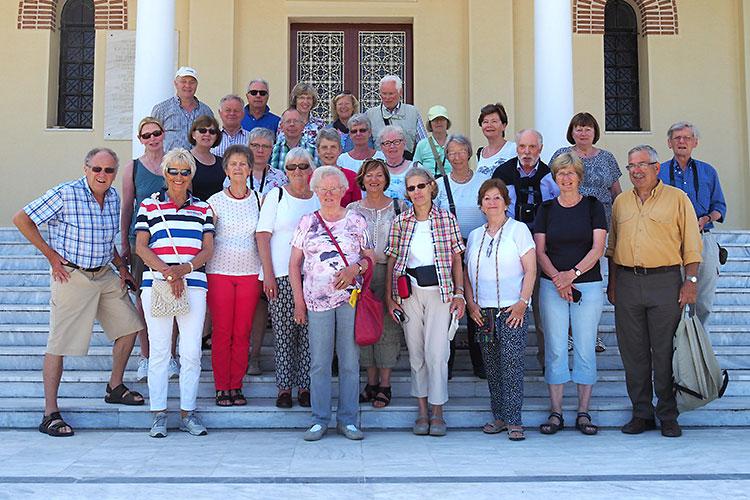 Die Reisegruppe der Pfarrgemeinde St. Ludgerus Borken