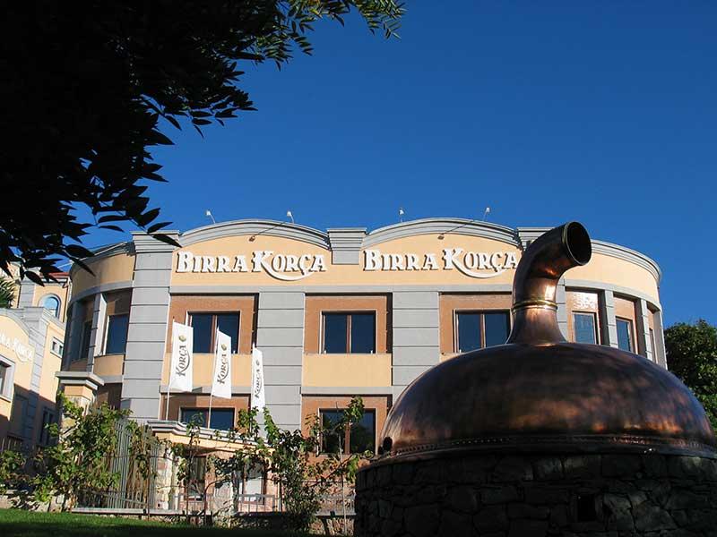 Brauerei in Korça